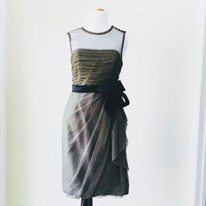 Vera Wang WHITE ' Bobbins Net' Dress, 6